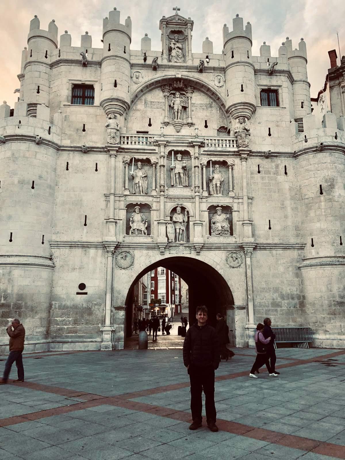 Burgos - start van Camino del Cid